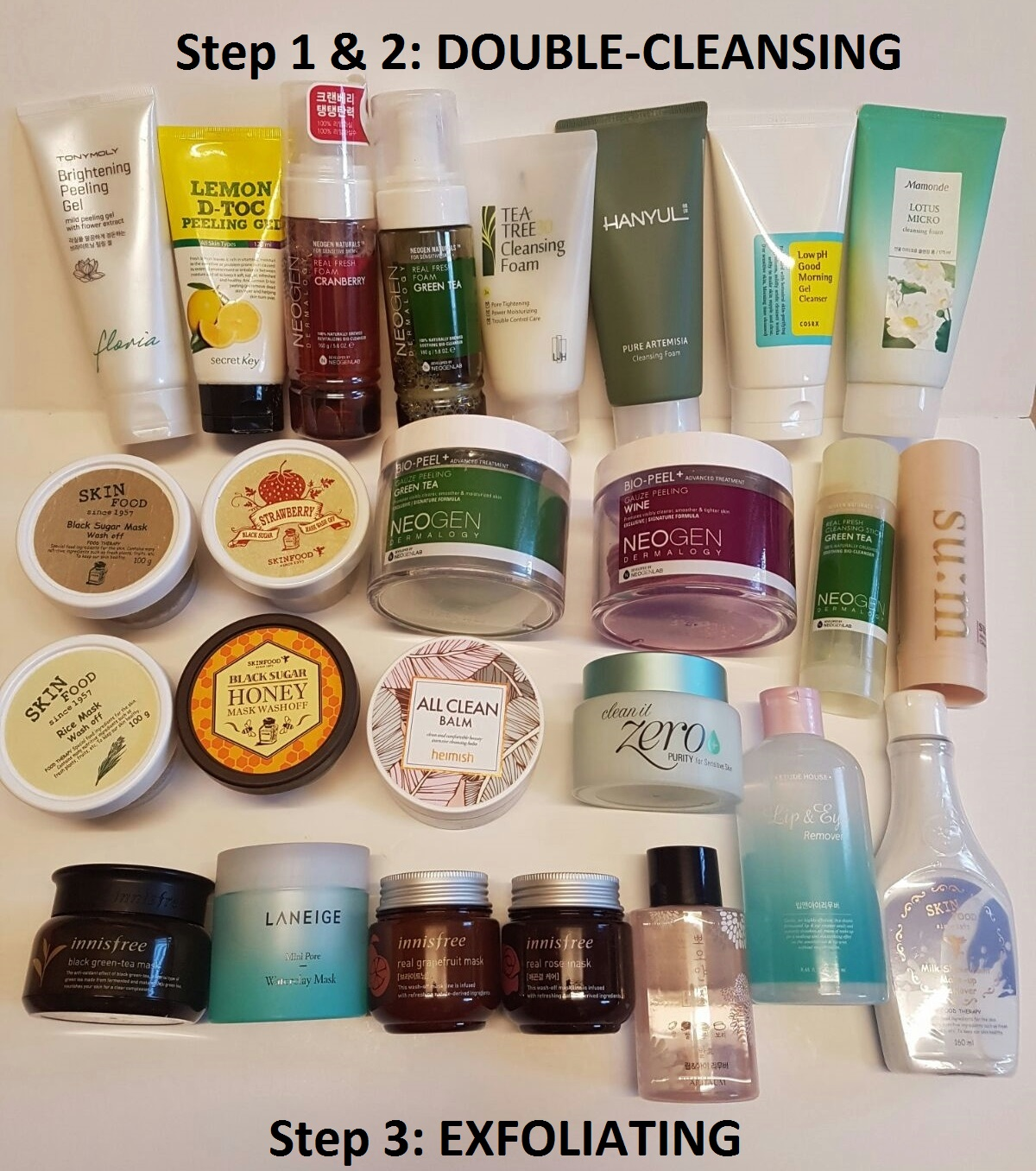 84c23c12a4 KOREAN SKINCARE ROUTINE 101: Part 1: Double-Cleansing & Exfoliating ...